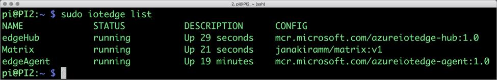 IoT Edge CLI on Raspberry PI