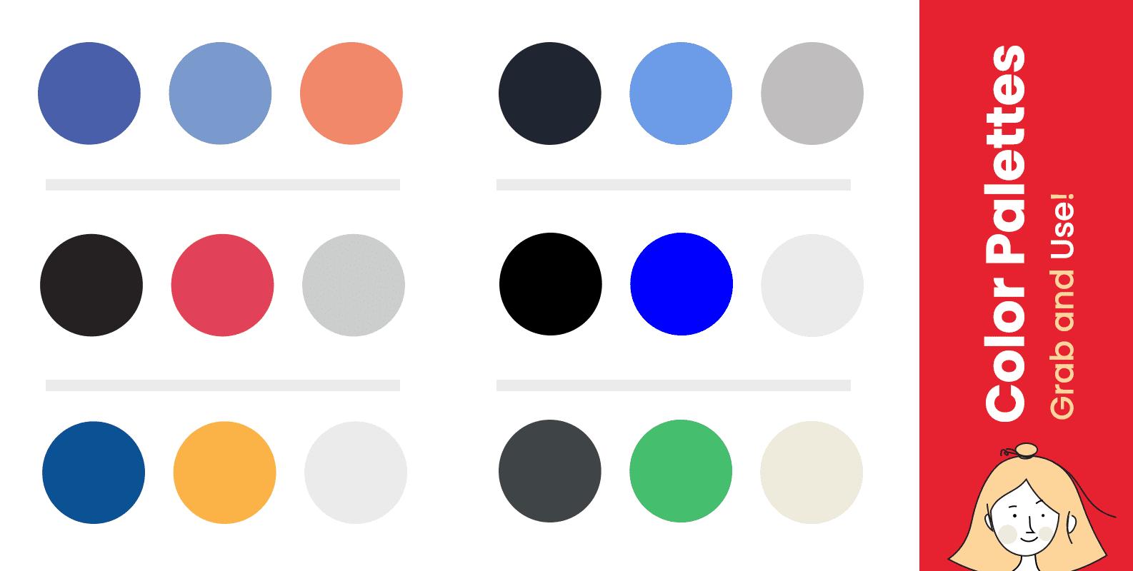 Color palettes for presentation