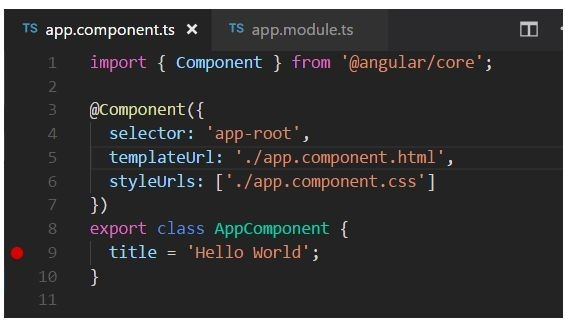 Debugging Angular