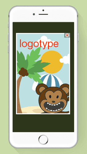 Iphone application logotype