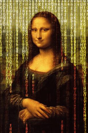 Mona Lisa painting and AI