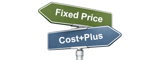 Fixed Price and Cost plus