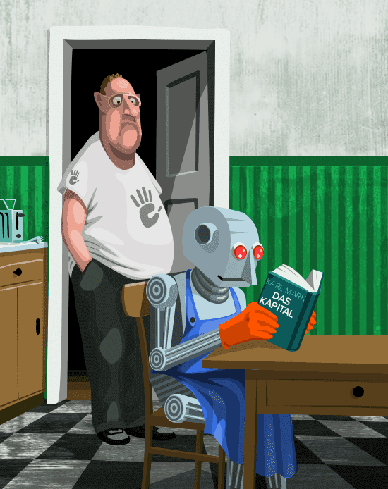 Robots and people (Big Data and AI)