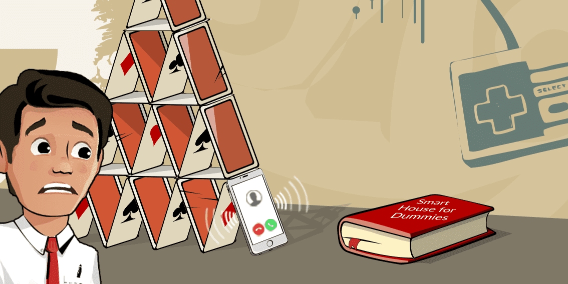 Phone and card house
