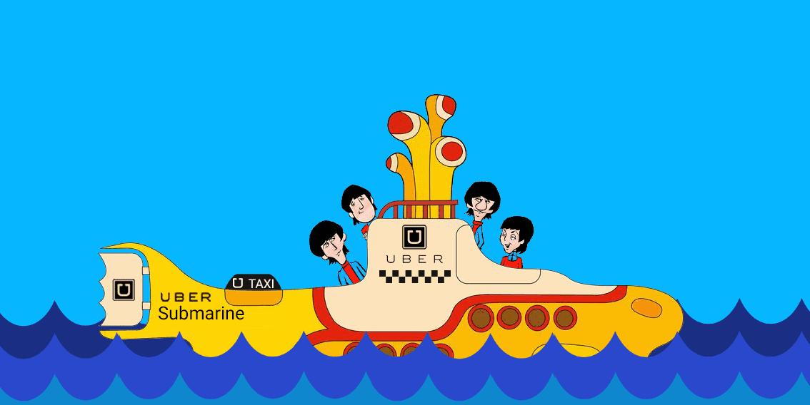 Uber submarine