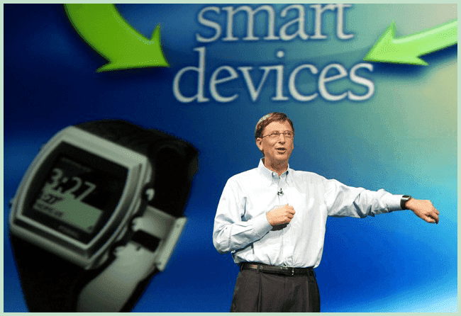Bill Gates and devices
