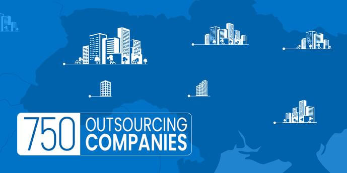 Research: Ukraine has 750 outsourcing companies with 172 thousand employees