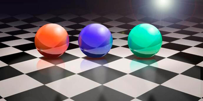 Ray tracing implementation using a Metal framework