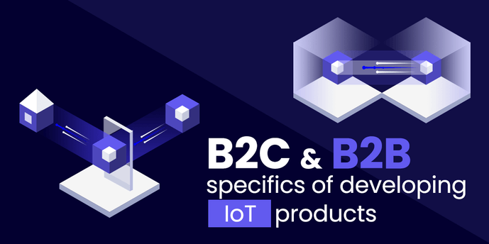 B2C & B2B specifics of developing IoT products