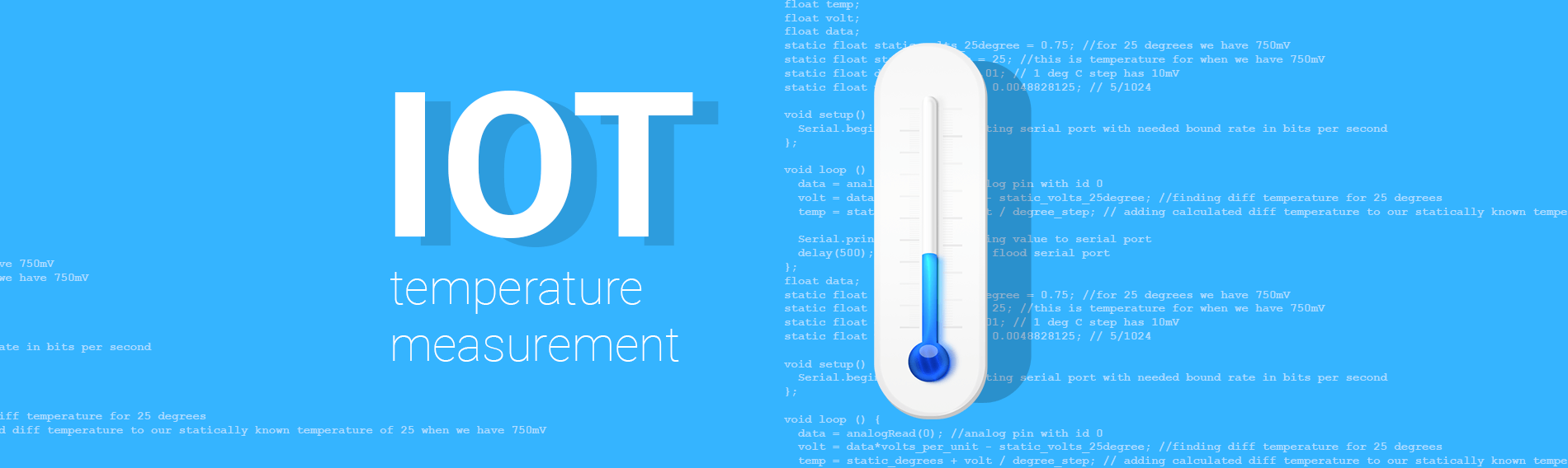 IoT Lecture #1: Arduino setup for temperature measurement and monitoring