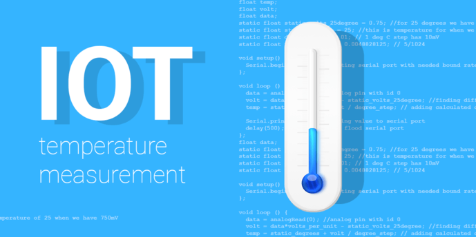IoT Lecture #1: temperature measurement and monitoring